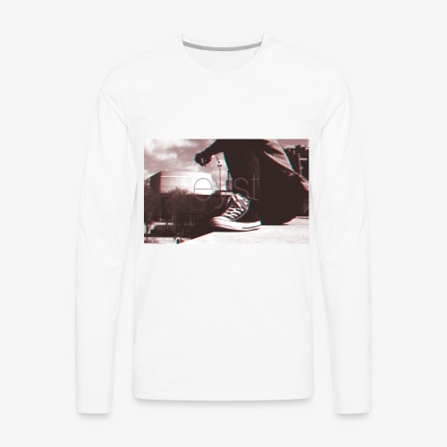 weird image - Men's Premium Long Sleeve T-Shirt