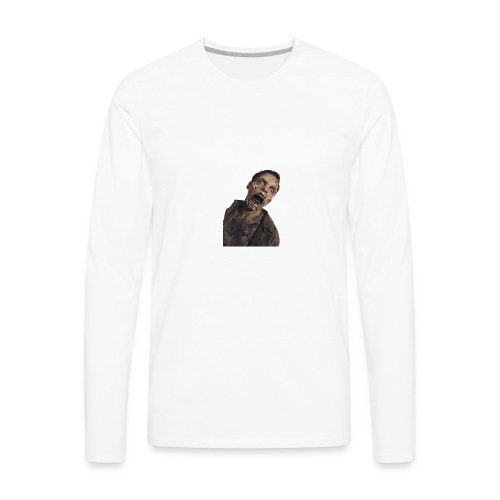 zombie hoddie - Men's Premium Long Sleeve T-Shirt