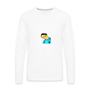 Fruggz logo - Men's Premium Long Sleeve T-Shirt