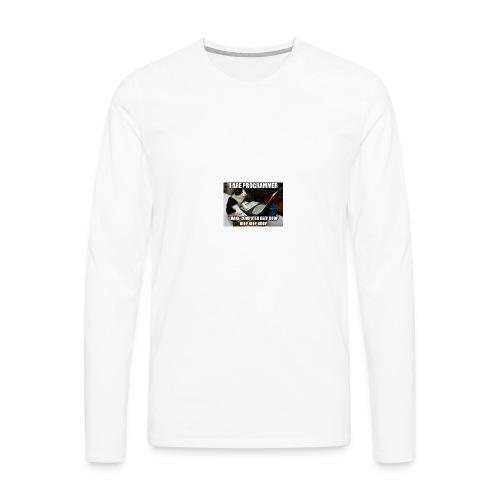 programmer - Men's Premium Long Sleeve T-Shirt