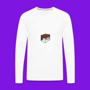 Yakmage Head T-Shirt - Men's Premium Long Sleeve T-Shirt