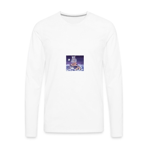 the cute lil fish mermaids - Men's Premium Long Sleeve T-Shirt