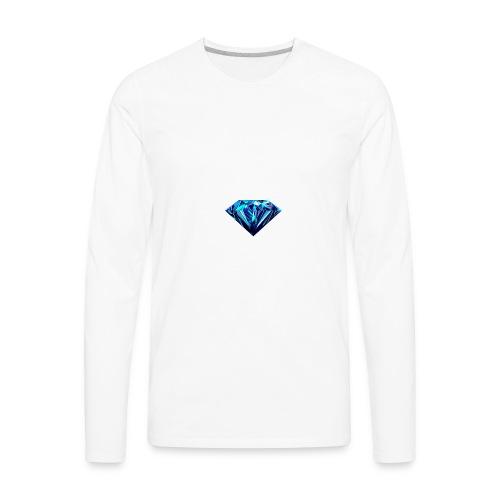 Diamond for be always rich kids ron paulers 15%off - Men's Premium Long Sleeve T-Shirt