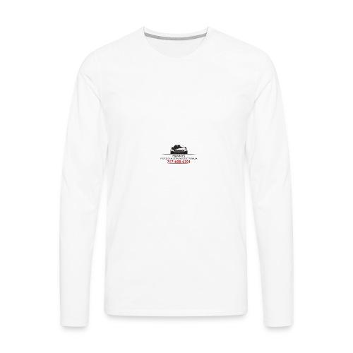 Mannylogo - Men's Premium Long Sleeve T-Shirt
