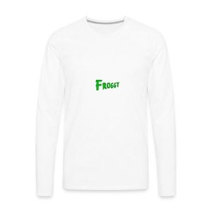 FROGGY - Men's Premium Long Sleeve T-Shirt