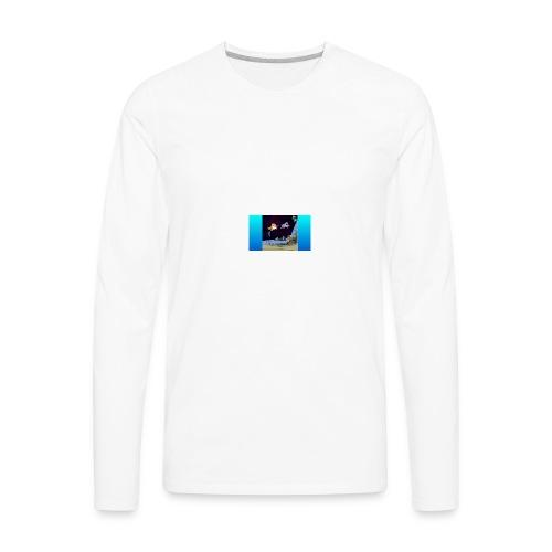 jack in spaceack space - Men's Premium Long Sleeve T-Shirt