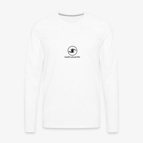 God, Culture, Art - Men's Premium Long Sleeve T-Shirt