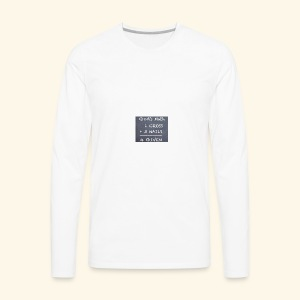 1 cross - Men's Premium Long Sleeve T-Shirt