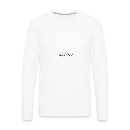 KA7FVV II - Men's Premium Long Sleeve T-Shirt