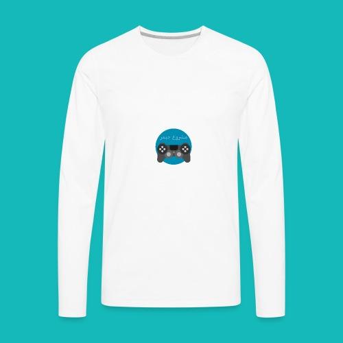 Mashrou3 Gamer Logo Products - Men's Premium Long Sleeve T-Shirt