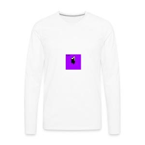 Pixel Night City - Men's Premium Long Sleeve T-Shirt
