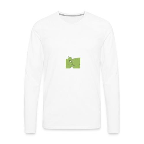 Shrek Ass Eating - Men's Premium Long Sleeve T-Shirt