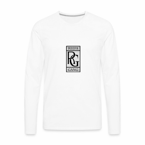Reefa Gang logo - Men's Premium Long Sleeve T-Shirt