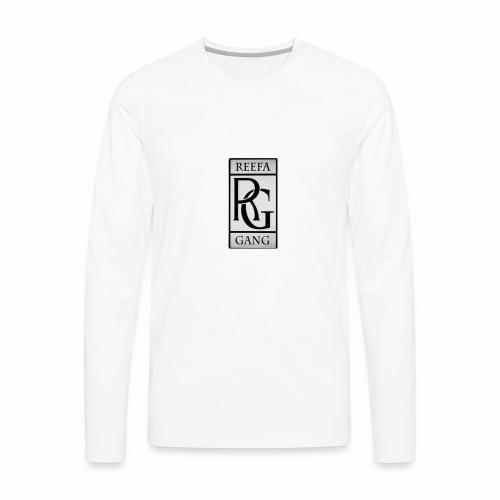 Reefa Gang logo - Men's Premium Long Sleeve T-Shirt