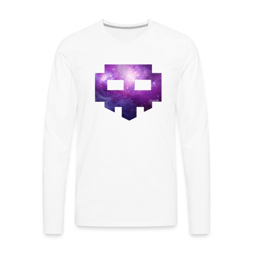 ESG logo Space Colored - Men's Premium Long Sleeve T-Shirt