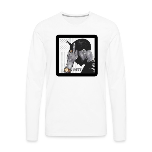 All Eyez - Men's Premium Long Sleeve T-Shirt
