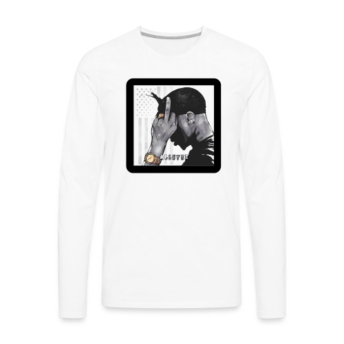 All Eyez - Men's Premium Long Sleeve T-Shirt