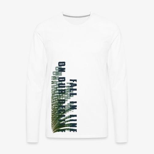 Decline - Men's Premium Long Sleeve T-Shirt