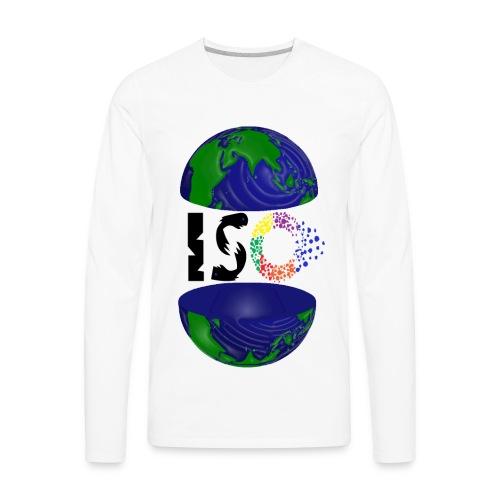 ISO Black - Men's Premium Long Sleeve T-Shirt