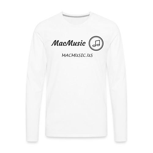 MacMusic - Men's Premium Long Sleeve T-Shirt
