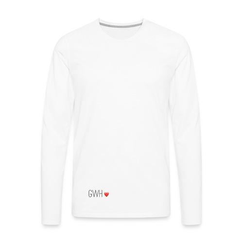 Grace Was Here - Men's Premium Long Sleeve T-Shirt
