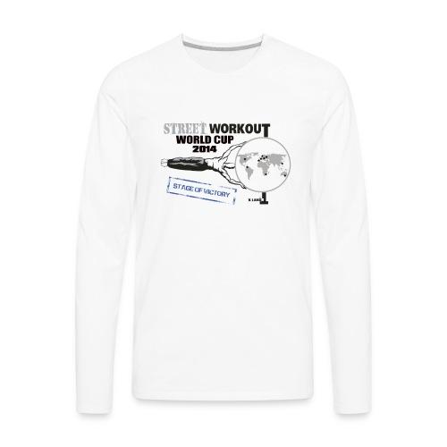 Official World Cup logo - Men's Premium Long Sleeve T-Shirt