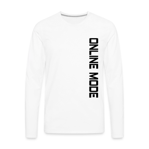 Slick Slide|Online Mode| - Men's Premium Long Sleeve T-Shirt