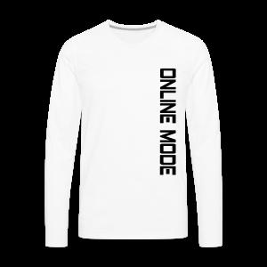 Slick Slide|Online Mode| - Men's Premium Long Sleeve T-Shirt