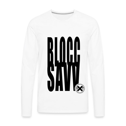 blocc savv - Men's Premium Long Sleeve T-Shirt