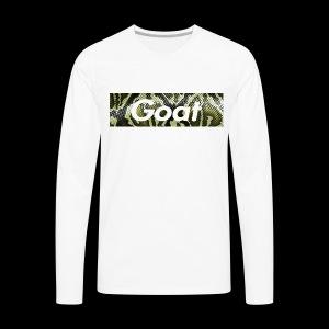 snake Goat bogo - Men's Premium Long Sleeve T-Shirt