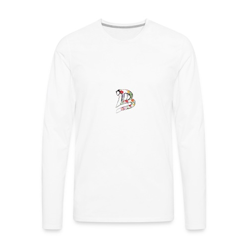 53 Floral - Men's Premium Long Sleeve T-Shirt