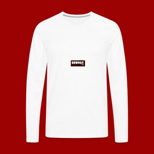 bernashd color 2 - Men's Premium Long Sleeve T-Shirt