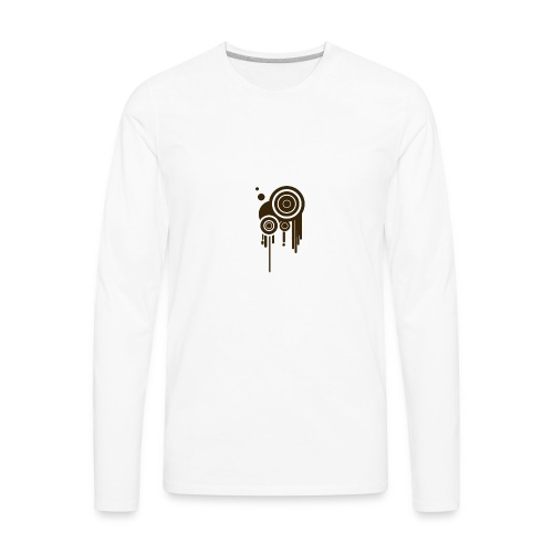 cool design element hi - Men's Premium Long Sleeve T-Shirt