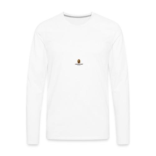 BAPE large - Men's Premium Long Sleeve T-Shirt