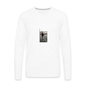 hoodie walker - Men's Premium Long Sleeve T-Shirt