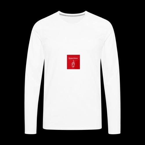 Speechless introduction - Men's Premium Long Sleeve T-Shirt