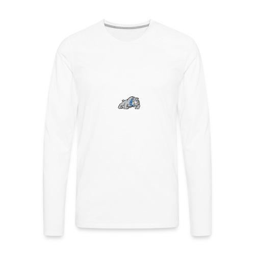 bull dog - Men's Premium Long Sleeve T-Shirt