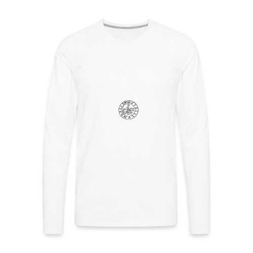italian warrior - Men's Premium Long Sleeve T-Shirt