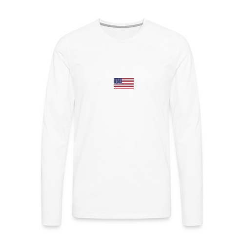 america vote owen thomas - Men's Premium Long Sleeve T-Shirt