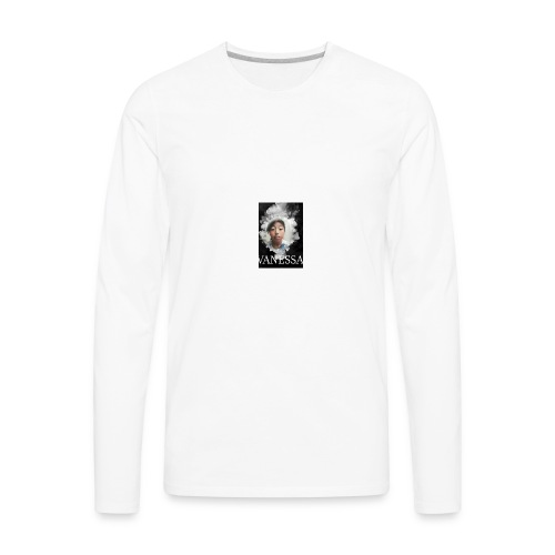 Vanessa smoke - Men's Premium Long Sleeve T-Shirt