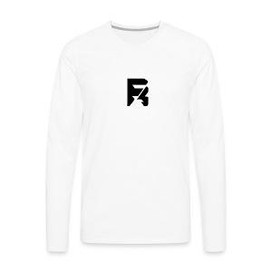 Team RisK prime logo - Men's Premium Long Sleeve T-Shirt