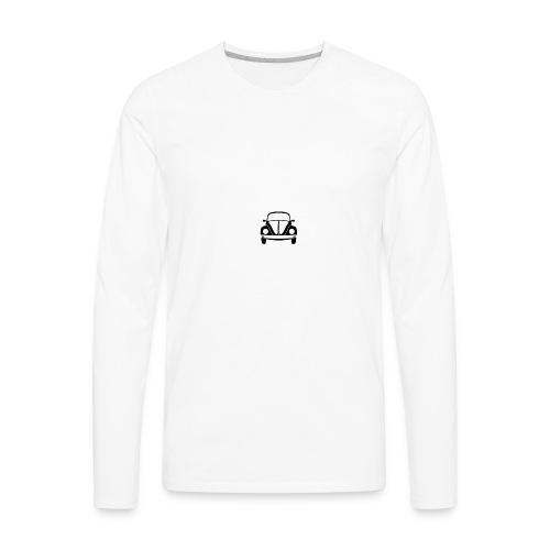 vw-beetle-icon-1573-01 - Men's Premium Long Sleeve T-Shirt