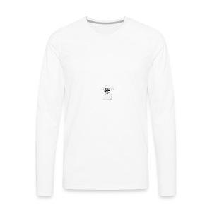 seek ye first christian designs - Men's Premium Long Sleeve T-Shirt
