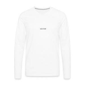 READ EAT SLEEP - Men's Premium Long Sleeve T-Shirt