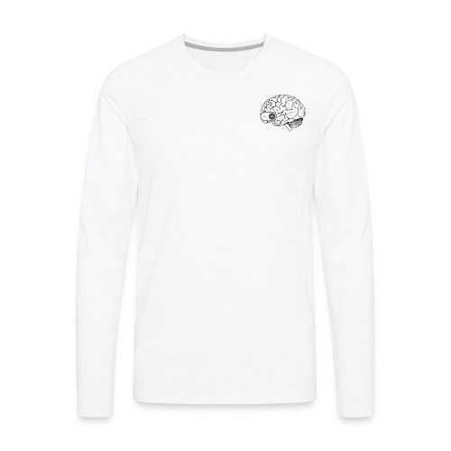 My Brain Can't Breathe - Men's Premium Long Sleeve T-Shirt