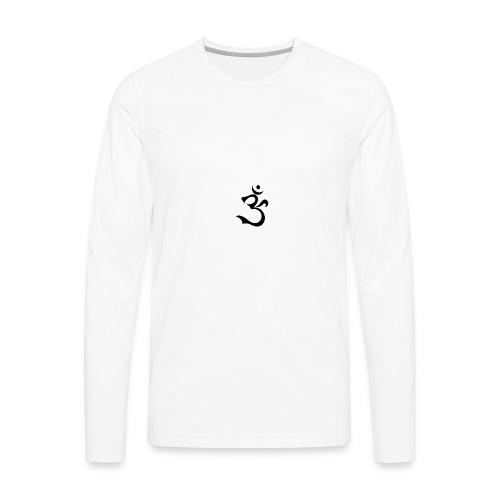 Aoum-Three - Men's Premium Long Sleeve T-Shirt