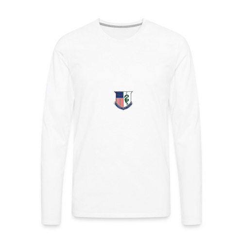 amedd crest - Men's Premium Long Sleeve T-Shirt