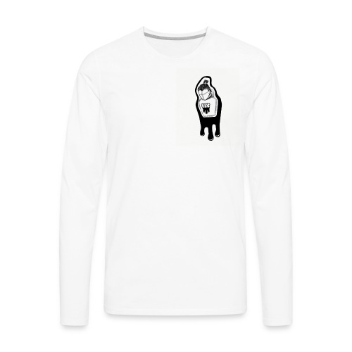 ugly kid clique logo - Men's Premium Long Sleeve T-Shirt