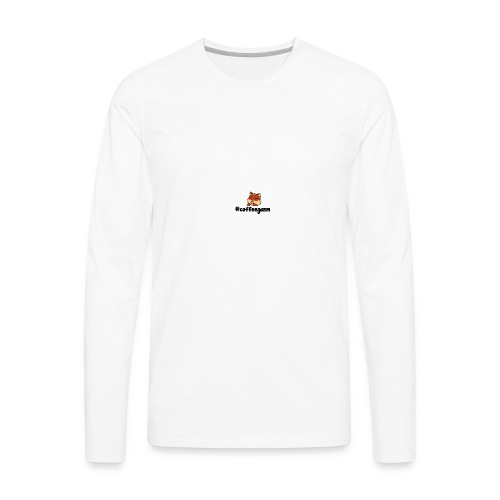 #CoffeeGasm Chiprel - Men's Premium Long Sleeve T-Shirt