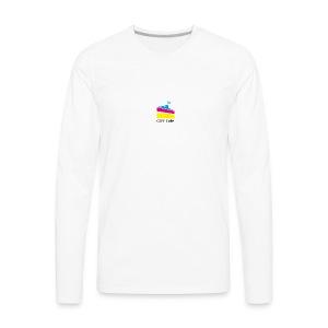 CMY Cake - Men's Premium Long Sleeve T-Shirt